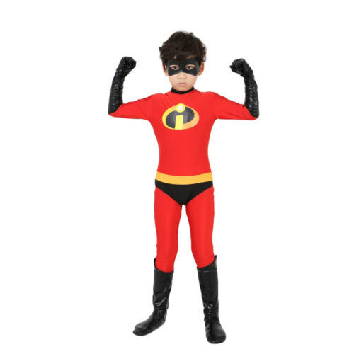 New The Incredibles Family Costume Matching Cosplay Elastigirl Violet Parr suit