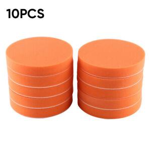 10-pieces-Disque-de-polissage-eponge-Tampon-Feutre-de-laine-Outil-rotatif
