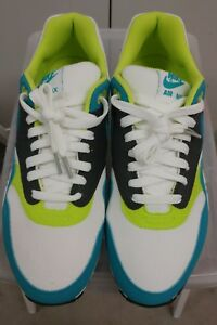 cheaper 5b1e9 dbed1 Image is loading DS-NIB-NIKE-AM-1-TURBO-GRN-ANTHRACITE-