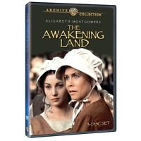 The Awakening Land - Dvd 3-disc Set - Tv Mini Series - Elizabeth Montgomery (mod