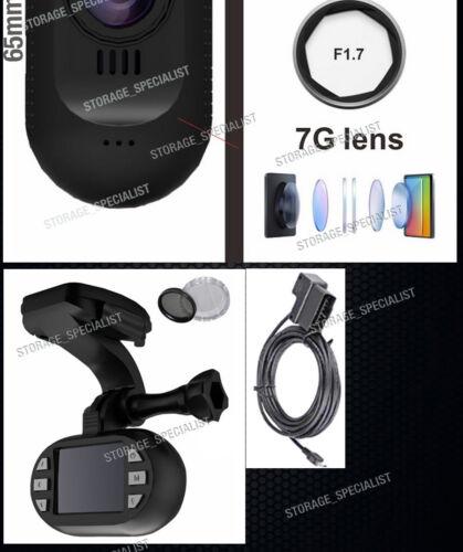 NanoQ Dash camera WIFI 0903 GPS Car Super Capacitor Sony Recorder Crashcam 0806