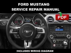 La Foto Se Está Cargando Ford Mustang 2017 2016 Fabrica Manual De
