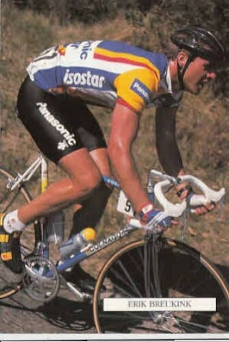 ERIK BREUKINK Cyclisme Cycling wielrennen PANASONIC 89 radsport ISOSTAR ciclismo