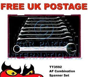Teng Tools TT3592 A/F Combination Spanner Set 8 Piece
