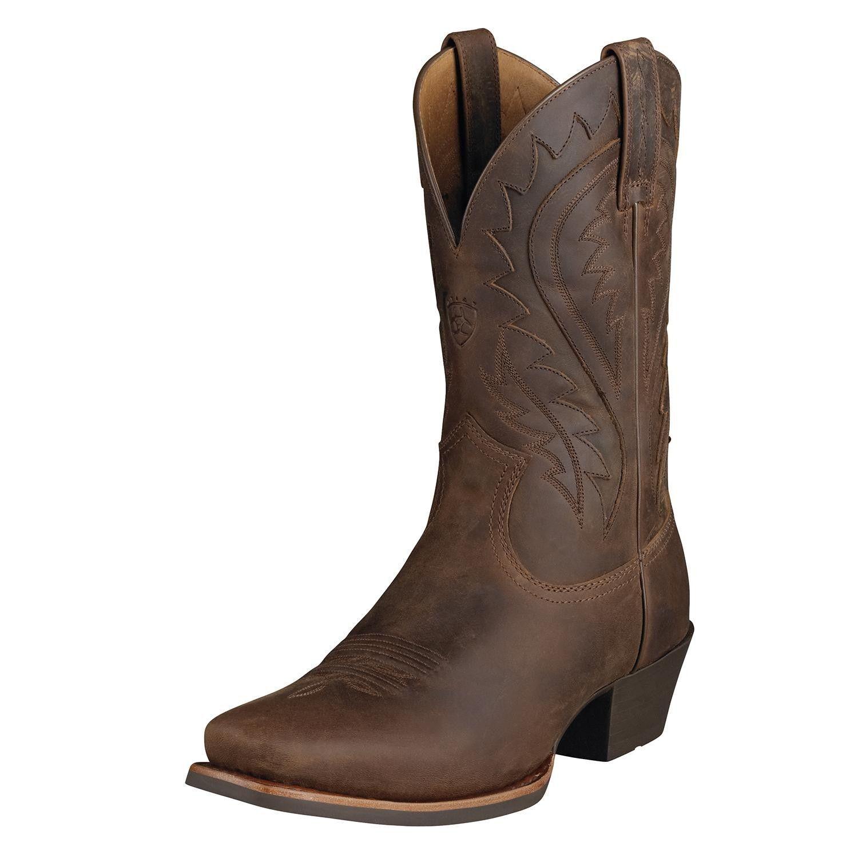 ARIAT Uomo LEGEND PHOENIX SQUARE TOE COWBOY BOOTS! TOASTY BROWN 10002310 35790