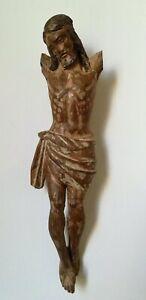 Christ-ancien-en-bois-sculpte-37-cm-iconographie-des-16-17eme