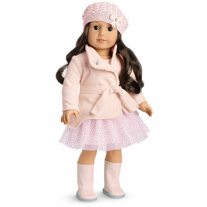 American Girl Winter Sparkles Outfit For Dolls - New - No Doll