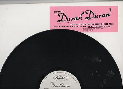 Duran Duran Double Pack Remixes by Junior Vasquez Pro 12inch 2 Lp\'s US  Vinyl | eBay