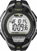 "Timex T5K412, Men's ""Ironman"" Resin Watch, Alarm, Chronograph, Indiglo, T5K4129J"