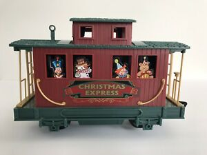 Details about Caboose From North Pole Express Christmas Train Set  Scientific Toys Eztec