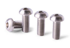 2 pieces M8 x50 Titanium Screws Button Head 6AL4V Aerospace Grade M8x50 Bolts