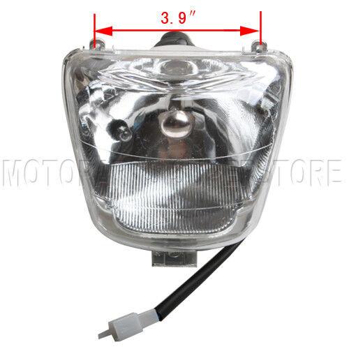 50cc 70cc 90cc 110cc 125cc HEADLIGHT SUNL ROKETA JCL Peace Panther Coolster ATV