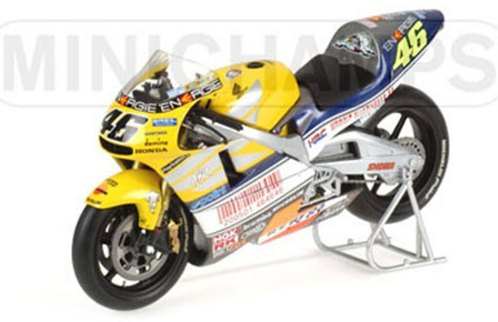 economico in alta qualità Minichamps 122 016176 HONDA NSR500 Valentino Rossi Rossi Rossi Le uomos 500CC GP 2001 1 12 TH  prezzi bassissimi