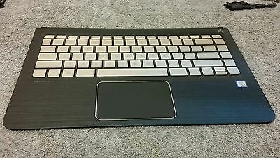 856047-001 Hp M3-u003dx Modern Gold Palmrest Genuine Keyboard Great