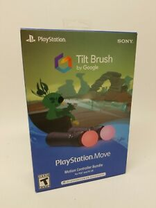 Playstation Move Motion Controller Bundle With Tilt Brush By Google