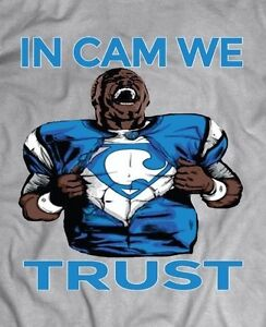 704ae34d Details about CAROLINA PANTHERS Cam Newton *IN CAM WE TRUST* RARE DESIGN  T-Shirt *MANY OPTIONS