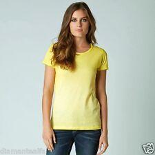 $32 Fox Racing Women's Backbiter Short-Sleeve T-Shirt – Yellow Fade sz M