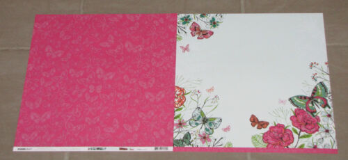 """KAISER *DELETED* Kaisercraft /'FLY FREE/' 12x12/"""" Paper Flowers//Birds You Choose"""