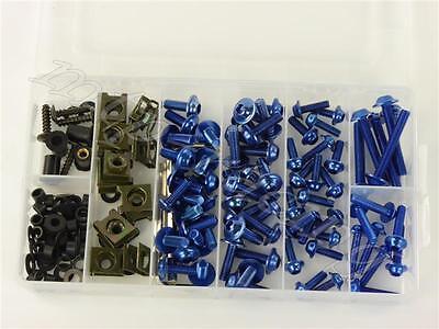 Alu Verkleidungsschrauben BMW R1200 GS (LC) 0A01 2013- blau