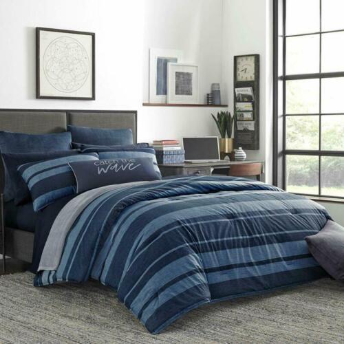 Nautica Longpoint Comforter Set Twin//Twin Xl Blue