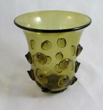 Holmegaard Extreamly Rare Jacob E Bang 1930s Horn Vase FIND ANOTHER!