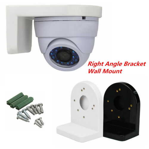 L Type Right Angle Metal Bracket Wall Mounts for CCTV Dome IP Security Camera UK