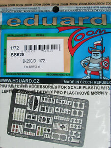 Eduard-1-72-SS628-Zoom-Etch-for-the-Airfix-B-25C-D-Mitchell-kit