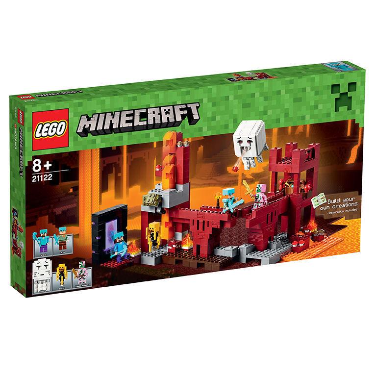 LEGO Minecraft 21122 Die Netherfestung Neu OVP