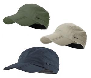 f504adb05 Details about Trekmates Atacama Cap - Mens Womens Foldable Fold Away  Baseball Hat Neck Shield