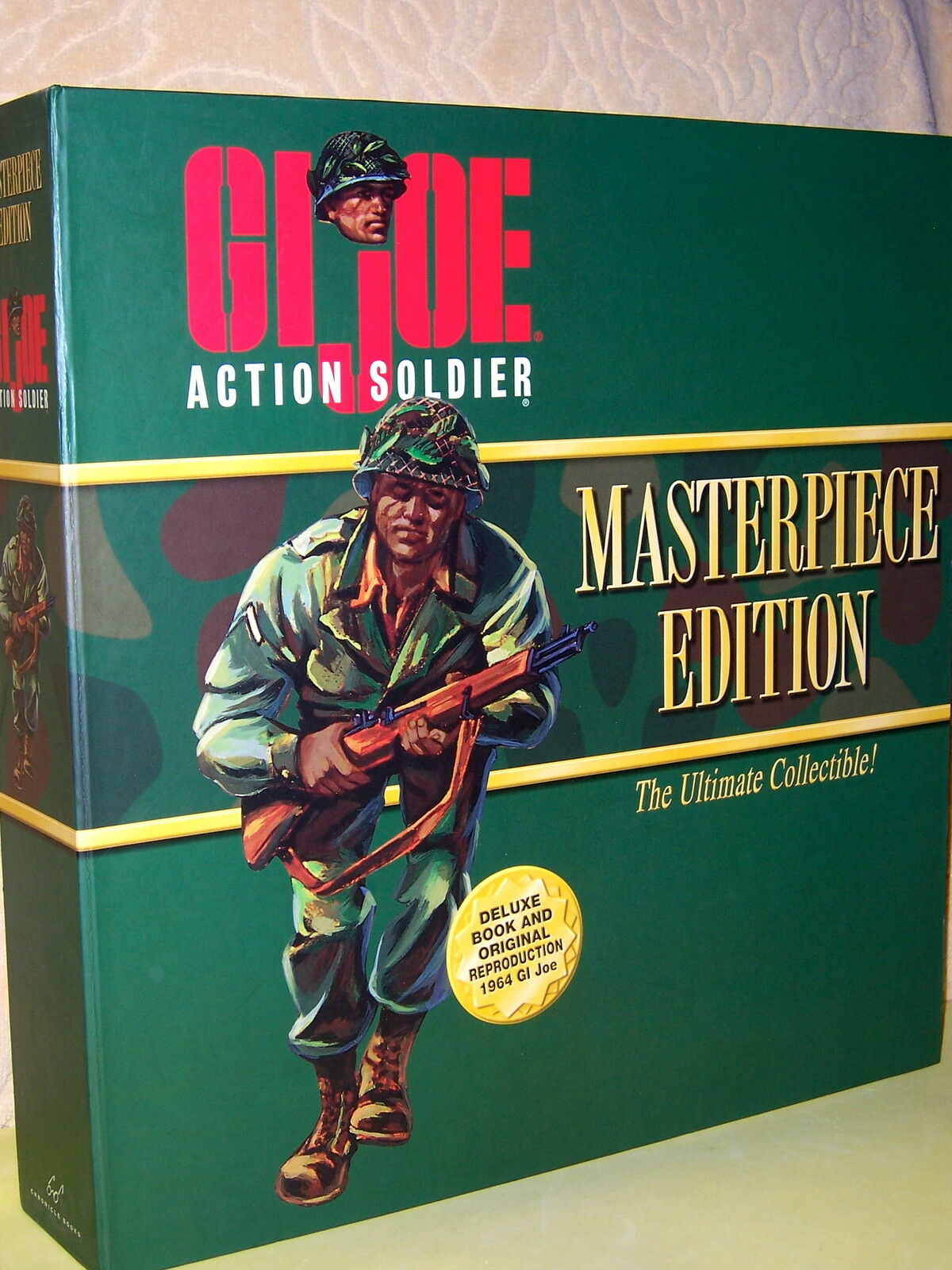 GI JOE ACTION SOLDIER, AFRICAN AMERICAN, MASTERPIECE EDITION