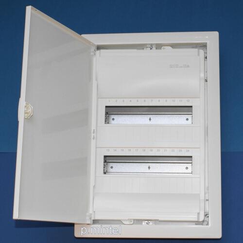 Hager VU24NC Unterputz Kleinverteiler Volta 2-reihig Blechtür weiß