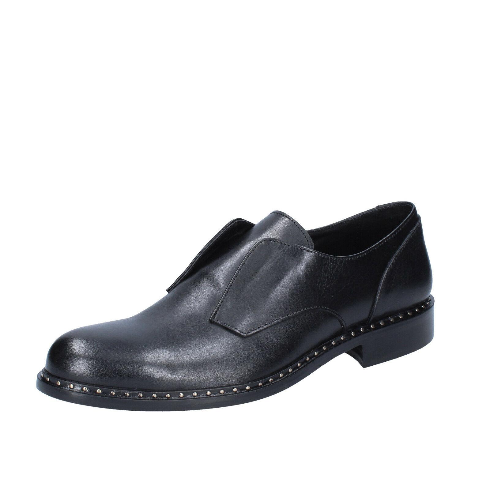 Herren schuhe BARCA 43 EU elegante schwarz leder BS688-43    | Louis, ausführlich