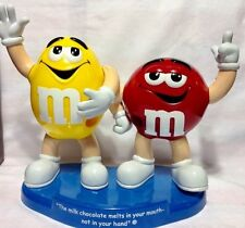 Vintage M&M  DISPENSER The milk chocolate melts in your mouth not in your hands