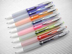 8-colors-UNI-BALL-SIGNO-UMN-207-F-0-7mm-Fine-point-roller-gel-ink-pen