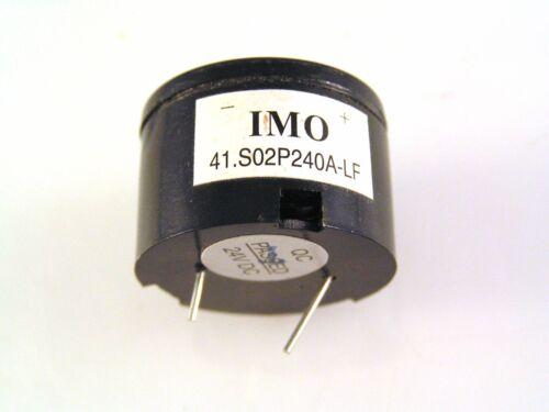 IMO 41-S02P240A-LF 12-28VDC Small Hi Pitch Door//Cabinet Alarm Sounder MBC021d