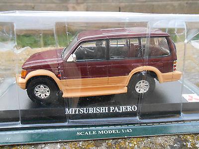 MITSUBISHI PAJERO  SCALA 1\43