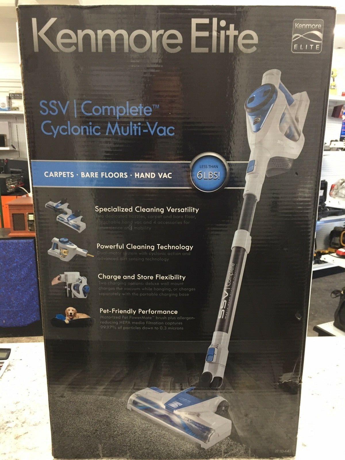 New Kenmore Elite 10441 SSVI Complete™ Cylconic Multi-Vac blueeee