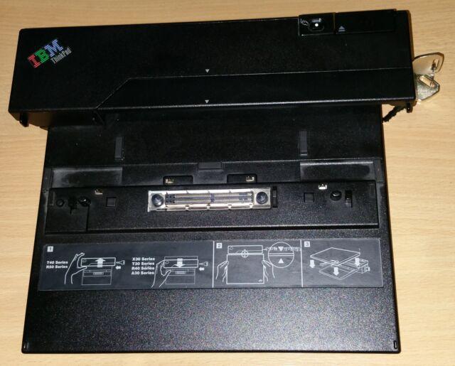 IBM ThinkPad X23 X24 X30 Port Replicator Docking Station 2878 + 2 Keys, no PSU