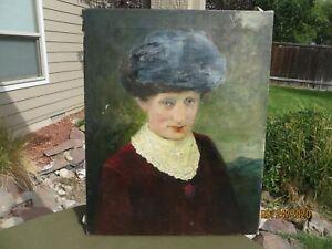Paul-Bernard-King-NY-PA-1867-1947-Original-Signed-oil-painting-antique