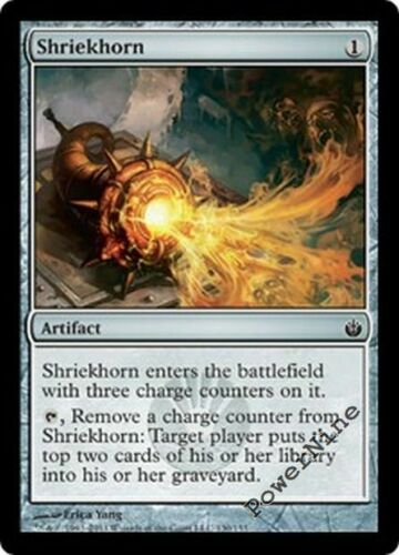 1 Shriekhorn Artifact Mirrodin Besieged Mtg Magic Common 1x x1
