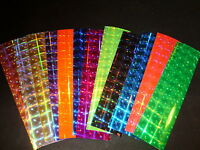Mad River 3 X 12 12 Color Assortment Pack Disco Holographic Fishing Lure Tape