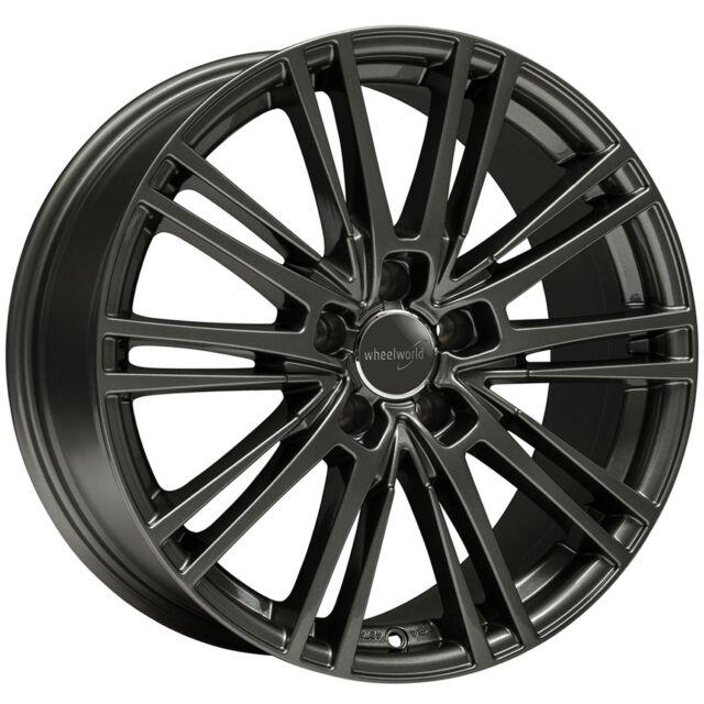 Wheelworld WH18 8x18 5x112 ET35 Dgm + Oscuro Gunmetal Audi A4 A5 A6 A7 A8 Q5