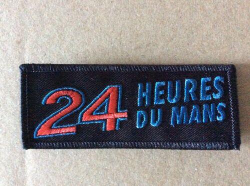 24H des Mans 10 4 CM A455 Wappenschild Patch Aufnäher Toppa
