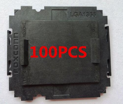 100 pcs Foxconn Intel LGA1366 CPU Socket Protector Cover 100/% ORIGINAL NEW