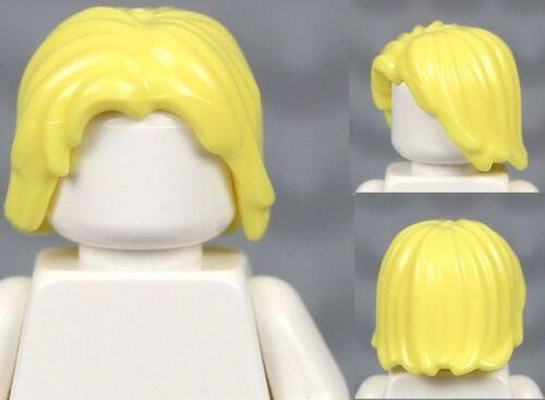 Lego Male Boy Hair Mid-Length Tousled Center Part Star Wars Thor Aragorn Obi-wan