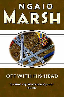 1 of 1 - Very Good, Off With His Head, Marsh, Ngaio, Book