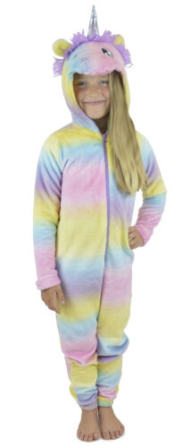 i-Smalls Cute Unicorn rainbow Pyjamas Sleepwear Nightwear Jumpsuit All in One