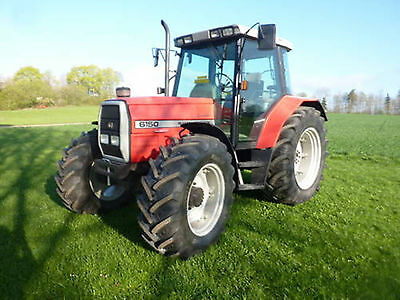 Tractor Manuals & Publications Straightforward Massey Ferguson Tractor Workshop Manuals 6100 Series Modern And Elegant In Fashion Massey Ferguson