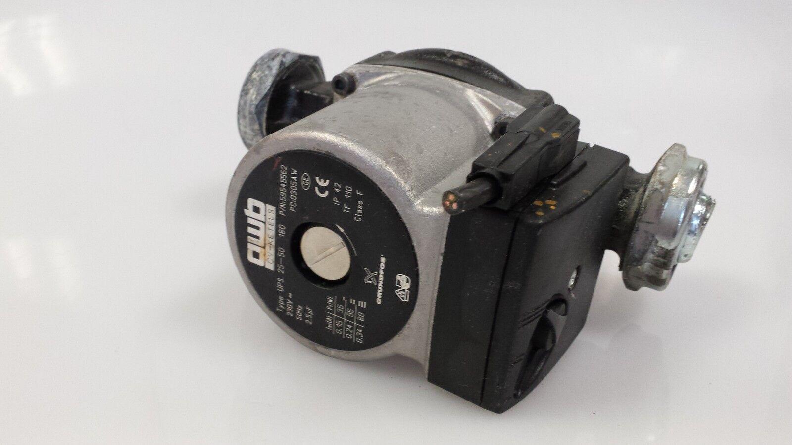 Grundfos awb CV-KETELS Typ UPS 25-50 180 180 180 Heizungspumpe fc0de0