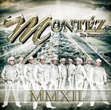 MMXII * by Grupo Mont'z de Durango (CD, May-2012, Sony Music) SEALED CD